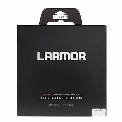 LARMOR GGS Self-Adhesive Optical Glass LCD Screen For CANON 7D UK Seller