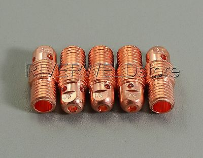 """18 pcs 13N28 Collet Body and 13N23 Collet for Tig Welding WP-9//20//25 2.4mm 3//32/"""""""