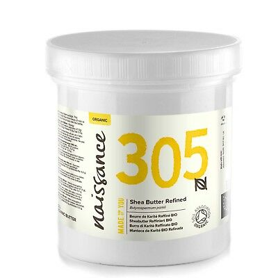 Manteca de Karité BIO Refinada - Ingrediente Natural 100% Puro - 250g