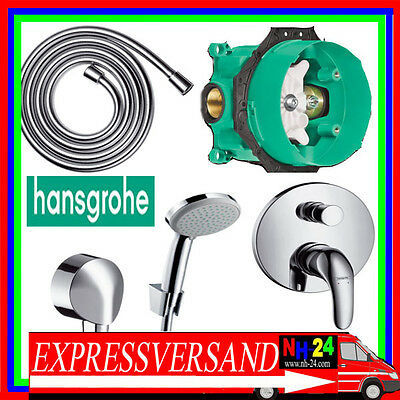 hansgrohe set dusche badewanne talis s unterputz armatur. Black Bedroom Furniture Sets. Home Design Ideas