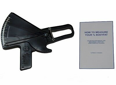 Slim Guide Skinfold Bodyfat Caliper With Manual Body Measurement Percentage