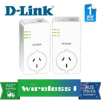 D-Link DHP-P601AV PowerLine AV2 1000 Gigabit Passthrough Kit