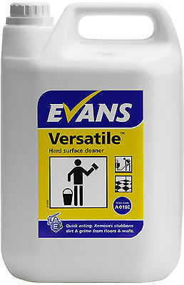 Evans Vanodine Versatile hard surface cleaner Floor walls 5 Ltr