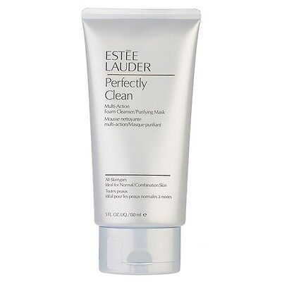 1 PC Estee Lauder Perfectly Clean Multi-Action Foam Cleanser Purifying Mask#7741