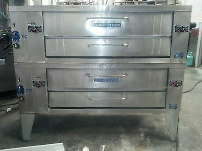 Bakers Pride Y602 Double Stack Pizza Ovens
