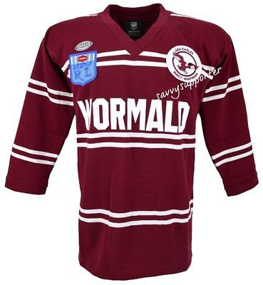 Manly Sea Eagles NRL 1987 Retro Jersey Sizes S-5XL BNWT Heritage