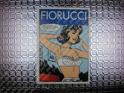 Fiorucci Panini Sticker Card 149 © 1984 / ITALY FASHION ART 80s POP RETRO DECAL