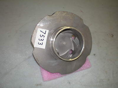 "Flowserve S/S Pump Impeller #12E08-24995 #51157A 6.5"" OD (NEW)"