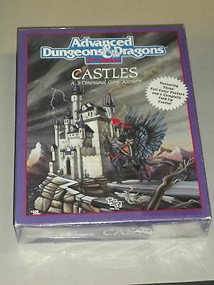 ADVANCED DUNGEONS & DRAGONS - 2nd edition - CASTLES - INCELOFANATO