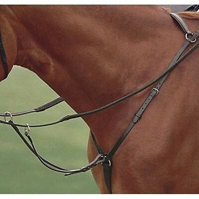 Kincade Hunter Breastplate With Running Martingale - Brown - Full NEW