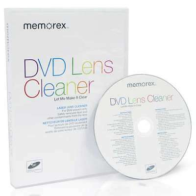 Memorex Laser Lens Dry Cleaner for Xbox PS2 Games Console CD DVD Player MEMDVDLC