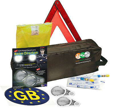 Euro European Travel Motoring Kit French Abroad For Europe Include Fresenal Lens