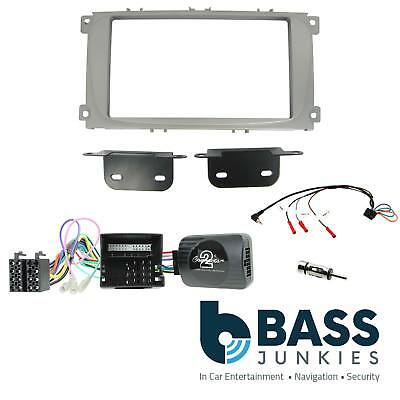 Ford Mondeo 2007 on Car Stereo Double Din Fascia Steering Wheel Adaptor Kit