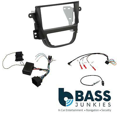 CTKVX19 Vauxhall Mokka 2012 On Car Stereo Double Din Fascia Steering Wheel Stalk