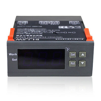 110V  Digital Temperature Controller  WH-7016F With Probe