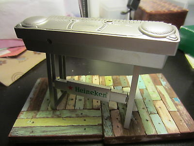 Heineken Beer Memorabilia Promotional Gift Metal Keyboard Display