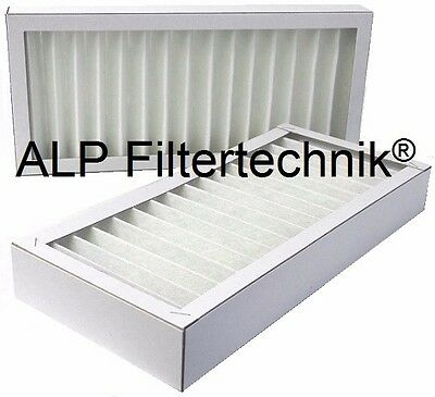 10 Filter ca. 350x160x48mm G4 Alternativfilter Pluggit APFG4-300 Kassettenfilter