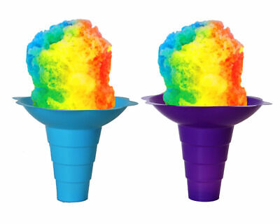 Flower Cups for Serving Shaved Ice or Snow Cones, Large, 12 OZ **FREE SHIP**