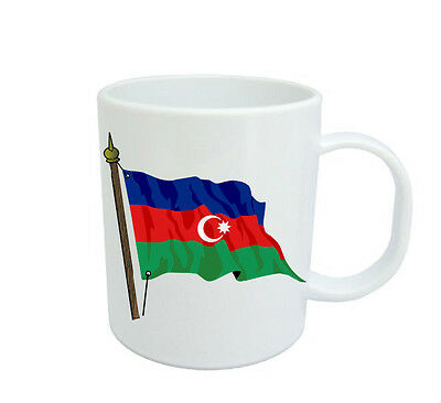 Azerbaijan  Flag  Coffee Mug Free Personalisation