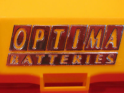 Optima Battery Cover / Adapter Kit yellow top red top