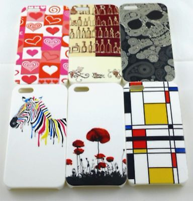 IPhone 5 Hard Case High Quality***Lot of 6 Different Styles