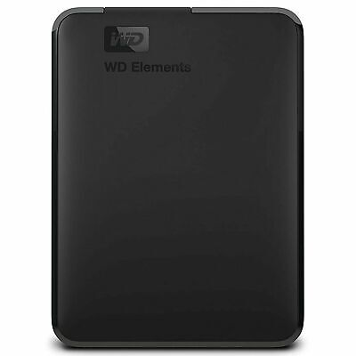 "NEW Western Digital WD Elements 3TB 2.5"" USB3.0 Portable External Hard Drive HDD"