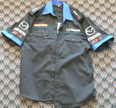 Mazda Mx5 Race Pit Crew Team Shirt Size Xxxl