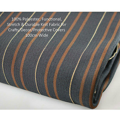 Neotrims Polyester Stretch Strong Durable Hard Wearing Knit Rib Fabric, Trimming