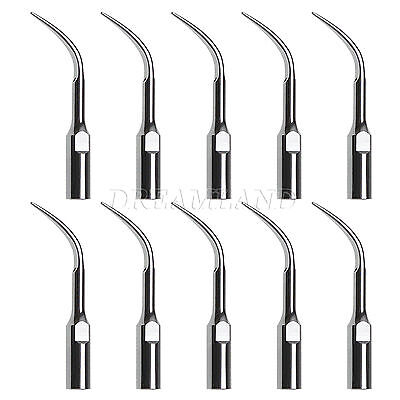 10*Dental Ultrasonic Piezo Scaler Tip GD4 For DTE SATELEC Series Handpiece NEW*