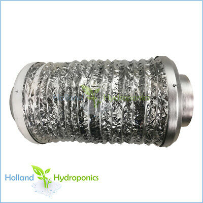 "5/6/8/10/12"" Fan Silencer for Ventilation of Grow Tent Grow Room Hydroponics"