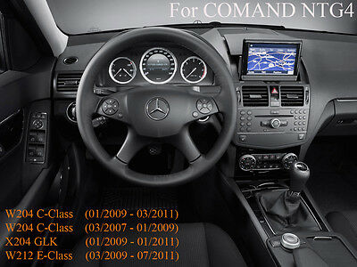 MERCEDES TV FREE VIDEO IN MOTION for E-Class W212/C207 C-Class W204/X204 MY08-11
