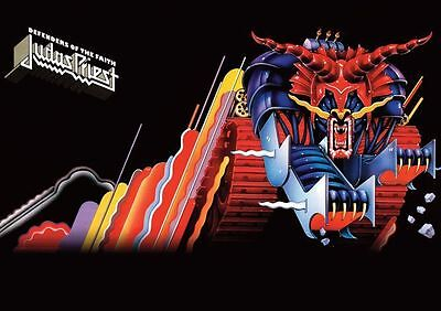 Judas Priest Defenders of the Faith Repro  Poster