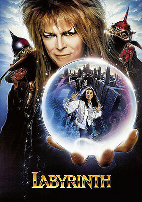 Labyrinth David Bowie Crystal Ball POSTER