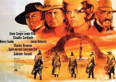 Once Upon a Time in the West Repro POSTER