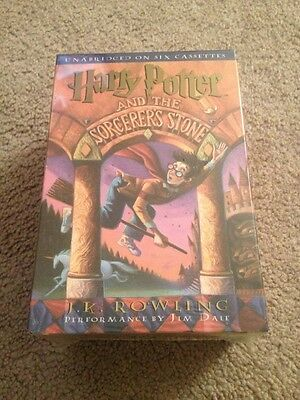 Harry Potter and The Sorcerer's Stone Unabridged Audiobook On 6 cassettes Sealed