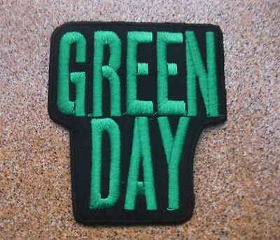 GREEN DAY GREENDAY musique Ecusson Broder Patch 8x9 cm