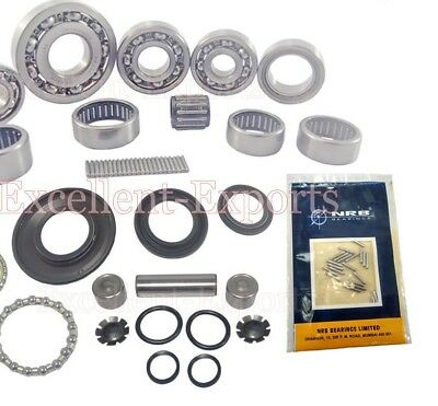 Vespa PX LML Bearing kit Pivot Pin Handle Bearing and Oil Seal kit New P1580