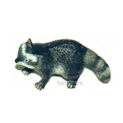 AAA 96859 Raccoon Wild Forest Animal Toy Model Figurine Replica - NIP