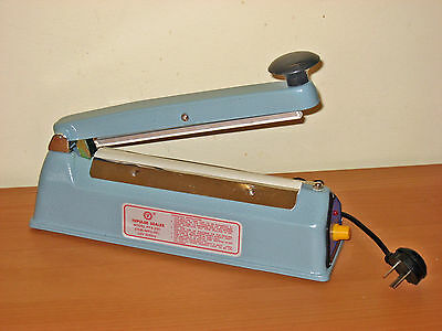 NEW Heat Sealer 200mm METAL CASING - SUPER HEAVY DUTY **Post from MELBOURNE **