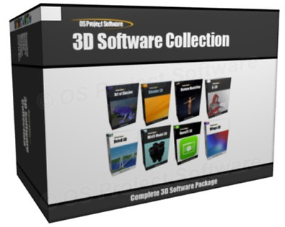 3D Animation Character Computer Game Design Software Bundle