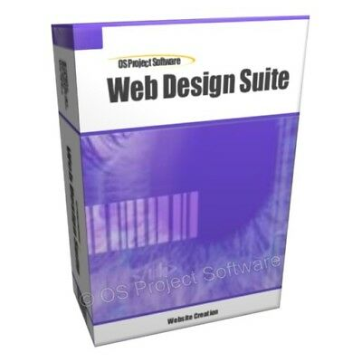 Website Web Design Software HTML Create Creator CD
