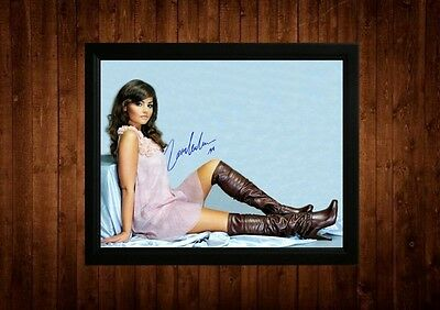 Jenna Louise Coleman Signed Framed Pp A4 Print Gift Ideas Emmerdale Dr Who