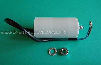 16uf CAPACITOR MOTOR RUN Universal 400v 450v 16mfd FLYING LEAD....1st CLASS POST