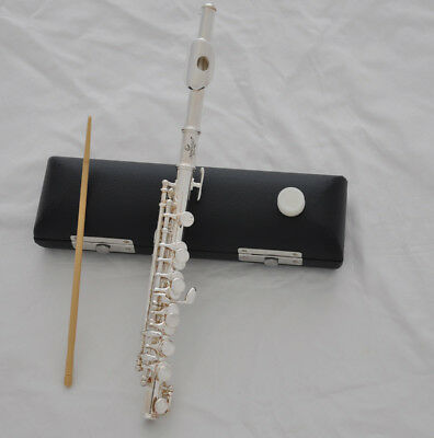 TOP JINBAO silver Plate C tone Piccolo Flute with leather case