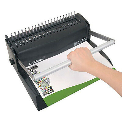 Premium Comb Binder Manual Binding Machine 450 sheets - Free Fast Delivery