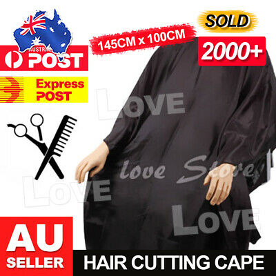 OZ Barber Gown Cloth Hair Cutting Hairdressing Cape Nylon Styling Pro Salon