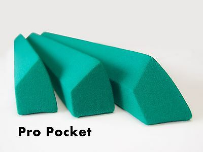 Pro Pocket Rails Covered (Championship Or Mercury) For Valley Pool Table Diamond