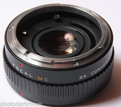 Focal 2x Auto Teleconverter For Canon FD - Japan - Glass Good - USED D38
