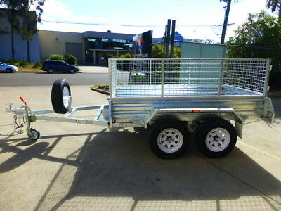 Special!!tandem 8*5 Galvanized Trailer Heavy Duty$2650 Drive-Away