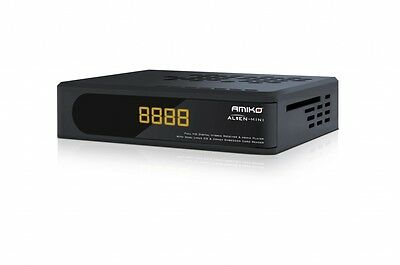 Amiko Alien 8900 Mini Single Tuner Dual Boot Satellite Receiver